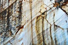 Detalj av naturlig marmor på villebråd fotografering för bildbyråer