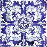 Detalj av portugis glasade tegelplattor. Fotografering för Bildbyråer