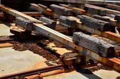 Detalj av Railworks royaltyfri bild