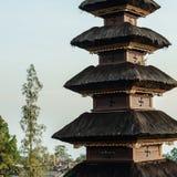 Detalj av relikskrinöverkanten i Pura Besakih Temple Royaltyfri Fotografi