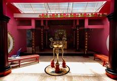 Detalj av relikskrin i pagoden Ekayana arkivfoton