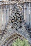 Detalj av Sagrada Familia i Barcelona, Spanien Arkivbild