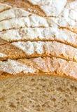 Detalj av skivat bröd Fotografering för Bildbyråer