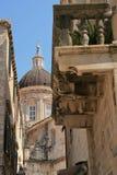 Detalj av slotten av diocletian i spalato royaltyfria bilder
