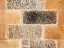 Detalj av stenväggen Royaltyfria Bilder