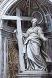 Detalj av Sts Peter basilika Vatican City Arkivfoton