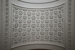 Detalj av taket i St. Nicholas Church Arkivbild