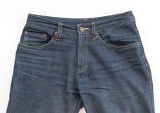 Detalj av trevlig jeans Fotografering för Bildbyråer