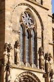 Detalj av Trierdomkyrkan, Tyskland Arkivbilder