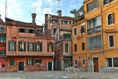 Detalj av Venedig, Italien arkivfoto