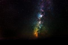 Detalj av Vintergatan Royaltyfri Fotografi