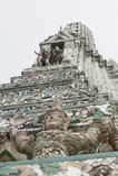 Detalj av Wat Arun, Bangkok Thailand royaltyfria foton
