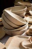 Detalj av wood hitckenware Arkivbild