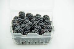 Detalj för Blackberry fruktgrupp Arkivbild