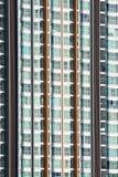 detalj för condo för lägenhetbakgrundsbyggnad arkivfoton