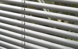 Detalj för fönsterrullgardin Arkivfoto