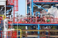 Detalj för fabrikskonstruktionsplats Royaltyfria Bilder