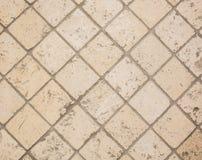 Detalj för keramiska tegelplattor Royaltyfri Fotografi