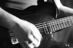 Detalj för levande musik arkivfoto