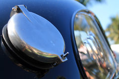 Detalj för lock för bränsle för tappningferrari racerbil Royaltyfria Bilder