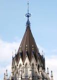 Detalj 2008 för Ottawa parlamentarkiv Royaltyfri Foto