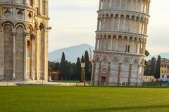 Detalj för piazzadeimiracoli Royaltyfria Bilder