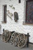 Detalj för ranchhus av garnering. Arkivbilder