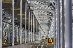 Detalj för Recife flygplatsarkitektur Arkivbilder