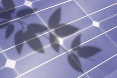 Detalj för sol- cell Arkivbilder