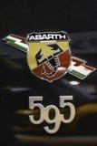 Detalj för sportbil Arkivfoto