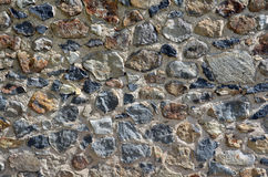 Detalj för stenvägg Arkivfoton