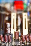 Detalj för strömkretsbräde royaltyfria foton