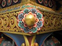Detalj för SWAYAMBHUNATH STUPA royaltyfria bilder