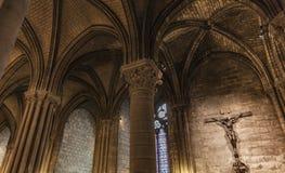 Detalj från Cathedrale Notre Dame de Paris royaltyfri foto