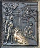 Detalj från martyrium Arkivfoton