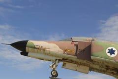 Detalj för jaktflygplan för Israel Air Force McDonnell Douglas F-4E fantom II Royaltyfri Fotografi