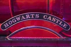 Detalj Hogwarts för uttryckligt drev Arkivfoto