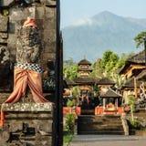 Detalj i Pura Besakih Temple Arkivfoton