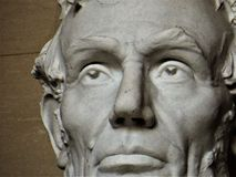 Detalj Lincoln Memorial, Washington DC royaltyfri bild
