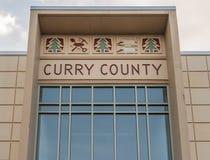 Detalj på den historiska Curry County domstolsbyggnaden Arkivfoto