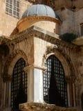 DETALJ PÅ KYRKAN AV DEN HELIGA GRIFTEN, JERUSALEM, ISRAEL Fotografering för Bildbyråer
