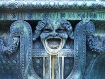 Detalj på springbrunnen arkivbilder