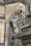 Detalj på Walter Scott Statue vid Bohem 1888; Kunglig mil; Lawnm Royaltyfri Bild