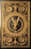 Detalj på wood möblemang på den Versailles slotten Royaltyfri Fotografi