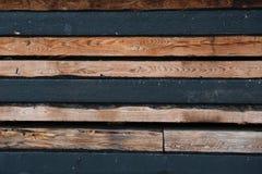 Detalj som är nära upp från ovannämnt på träsnitt med kopieringsspaceDetailsikt av träbråckbandet Royaltyfria Foton
