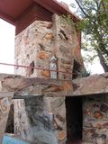 Detalj Taliesin West, Scottsdale, Arizona royaltyfria foton
