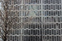 Detalj tegelstenvävhus, Chicago, studioligaarkitekter Arkivbilder