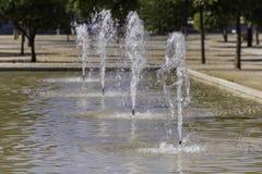 Detalj till ett waterjet fotografering för bildbyråer