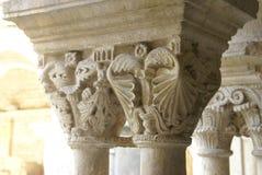 Detalj utsmyckade Corinthianhuvudstäder royaltyfria foton