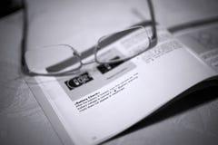 detaljanvisningshandbok Arkivfoton
